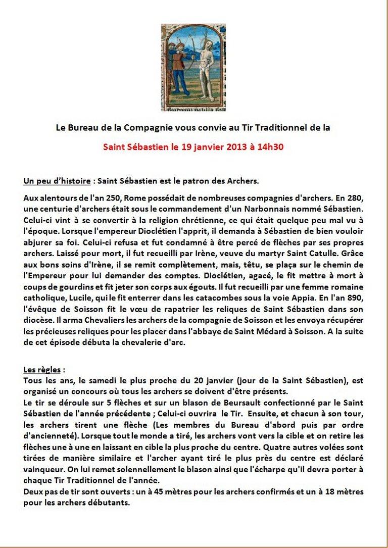Saint Sébastien 2013